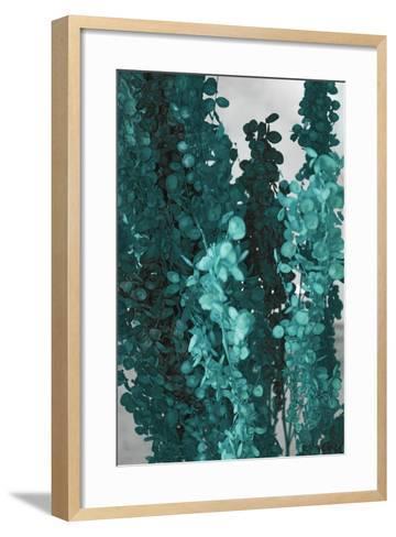 Autumnal Teal III-Daniela Savone-Framed Art Print