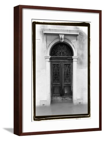 Venetian Doorways I-Laura Denardo-Framed Art Print