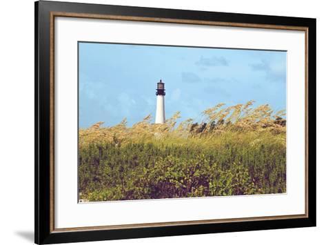Lighthouse View-Gail Peck-Framed Art Print