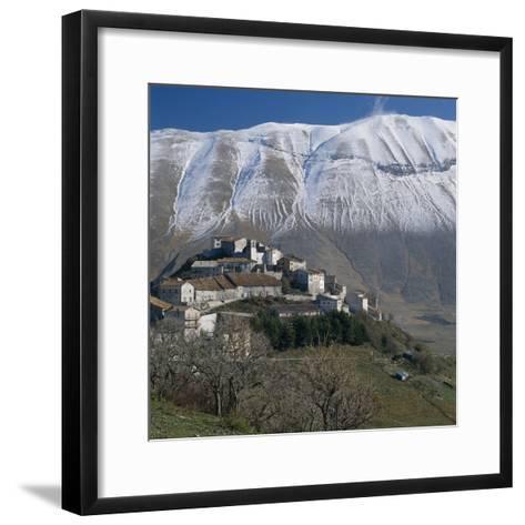 Castelluccio. Umbria-Joe Cornish-Framed Art Print
