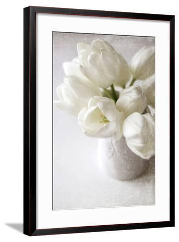 Vanishing in the White Elegance-Sarah Gardner-Framed Art Print