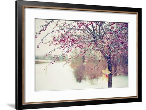 Winter Berries I-Kelly Poynter-Framed Art Print