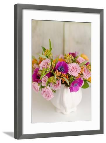 Radiant Bouquet-Sarah Gardner-Framed Art Print