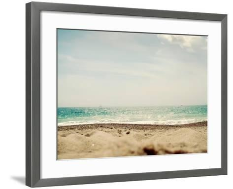 British Coast-Sarah Gardner-Framed Art Print