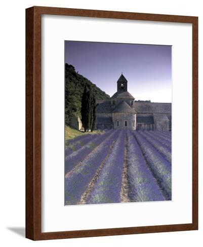 Abbey De Senanque, Provence, France-Marcel Malherbe-Framed Art Print