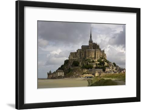Mont St Michel, Normandy-David Churchill-Framed Art Print