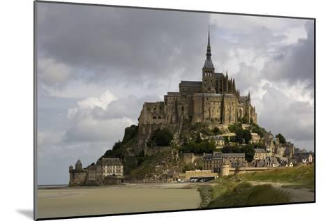 Mont St Michel, Normandy-David Churchill-Mounted Photographic Print