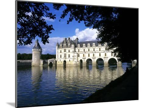 Chenonceau Castle, Loire, View of Chateau Through Trees-Marcel Malherbe-Mounted Photographic Print