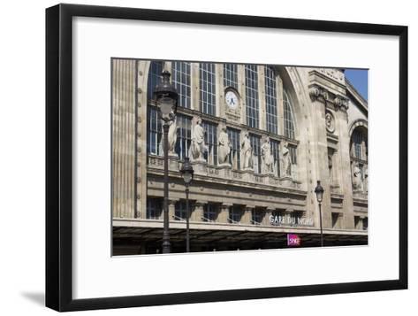 Gare Du Nord Train Station, Paris-Natalie Tepper-Framed Art Print