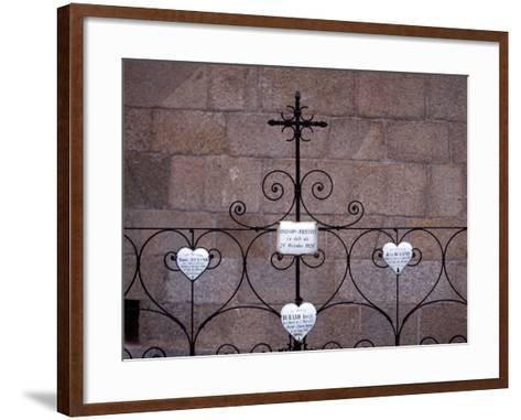 En Near Nyer, Church St Just Et St Pasteur - Arriege, France-Pol M.R. Maeyaert-Framed Art Print