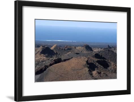 Landscape of the National Park of Timanfaya, Lanzarote, Spain-Natalie Tepper-Framed Art Print