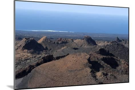 Landscape of the National Park of Timanfaya, Lanzarote, Spain-Natalie Tepper-Mounted Photographic Print