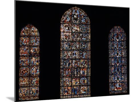 Stained Glass Window, Chartres Cathedral, France-Pol M.R. Maeyaert-Mounted Photographic Print