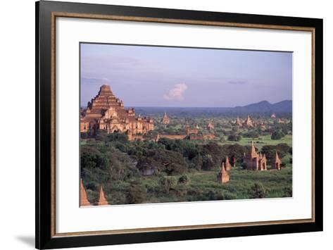 Bagan, Dhammayangyi Pagoda - Burma-Rainer Kiedrowski-Framed Art Print