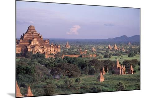 Bagan, Dhammayangyi Pagoda - Burma-Rainer Kiedrowski-Mounted Photographic Print