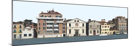 Panoramic View of Venice. Dorsoduro-Mike Burton-Mounted Photographic Print