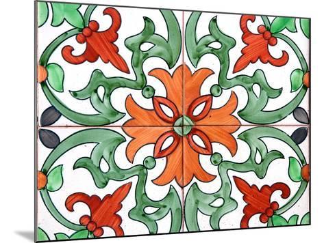 Spanish Tiles I-Jairo Rodriguez-Mounted Photographic Print