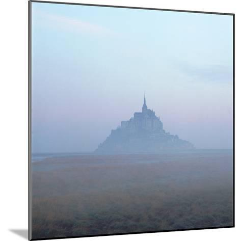 Mont-St-Michel in the Mist Normandy France-Joe Cornish-Mounted Photographic Print