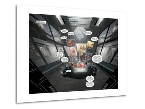 Zombies vs. Robots: Undercity - Page Spread-Mark Torres-Metal Print