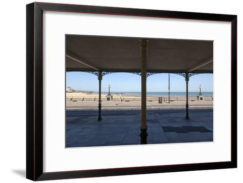 Kent, Coast Structure, Margate and Palm Bay-Robert Greshoff-Framed Art Print