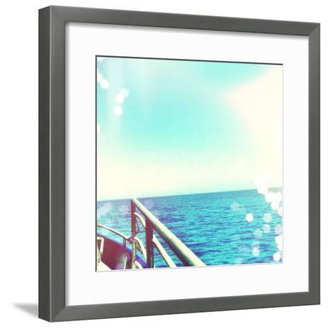 On the Horizon-Acosta-Framed Art Print