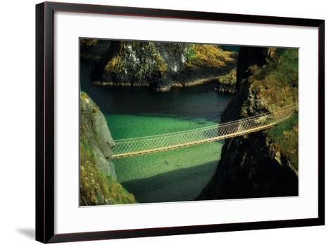 Bridge Ridge V-Dennis Frates-Framed Art Print