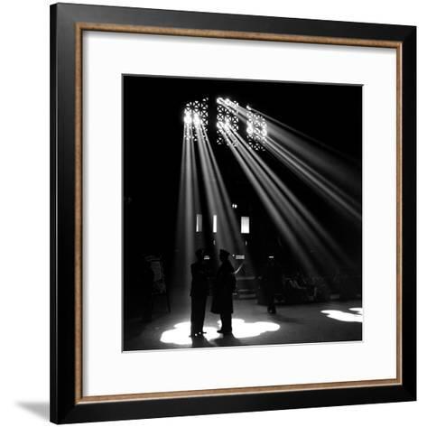Union Station, Chicago, 1943-Jack Delano-Framed Art Print