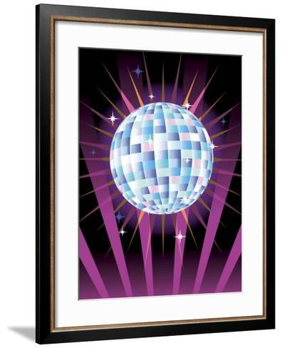 Disco Ball--Framed Art Print
