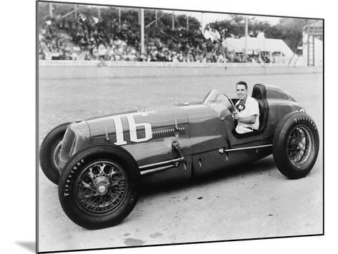 George Robson Was the Winner of the 1946 Indianapolis 500--Mounted Photo