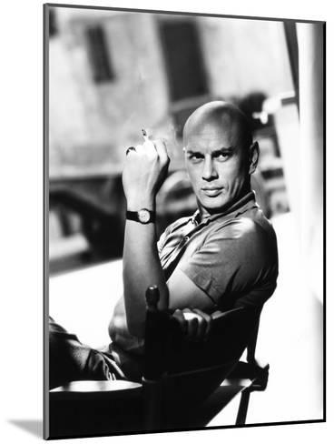 Yul Brynner, 1956--Mounted Photo