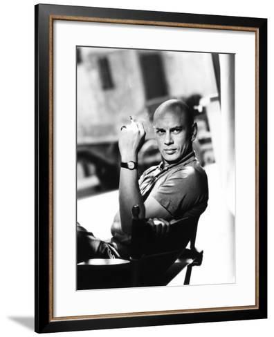 Yul Brynner, 1956--Framed Art Print