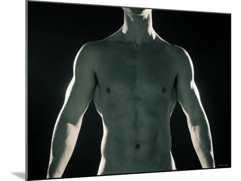 Man with Muscular Arms and Chest--Mounted Photographic Print