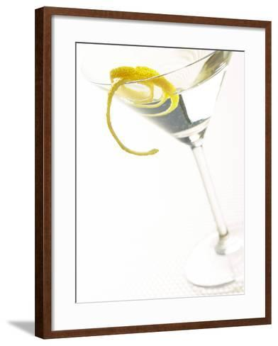 Martini with a Twist--Framed Art Print