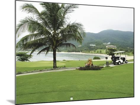 Lawn on a Golf Course--Mounted Photographic Print