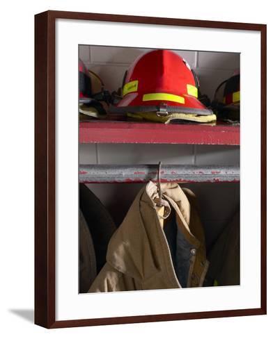 Firefighting Gear--Framed Art Print