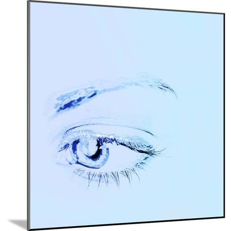 Close-up of a Human Eye--Mounted Photographic Print