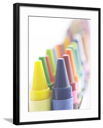 Box of Crayons--Framed Art Print