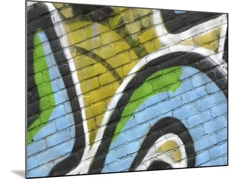 Close-up of Graffiti--Mounted Photographic Print