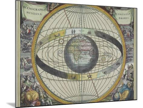 Ancient Astrological Map--Mounted Photographic Print