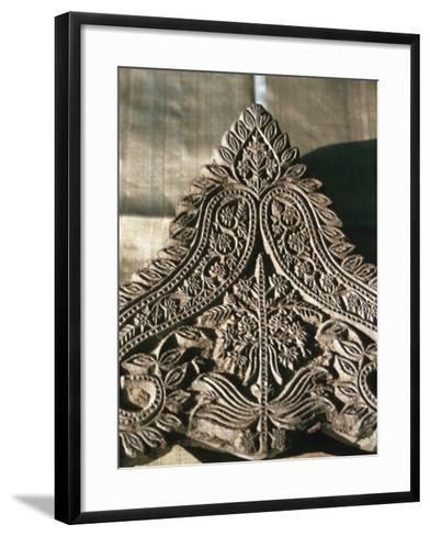 Indian Pattern, India--Framed Art Print