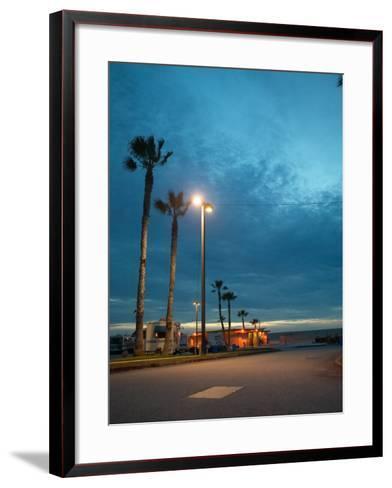 RV Park by the Ocean--Framed Art Print