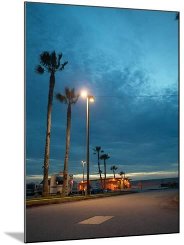 RV Park by the Ocean--Mounted Photographic Print