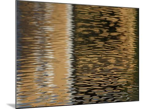 Reflection of Building in Water--Mounted Photographic Print