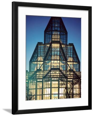 View of Exterior of National Gallery in Ontario, Canada--Framed Art Print