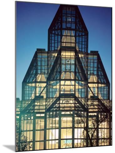 View of Exterior of National Gallery in Ontario, Canada--Mounted Photographic Print
