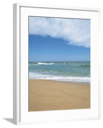 Sand on a Beach--Framed Art Print