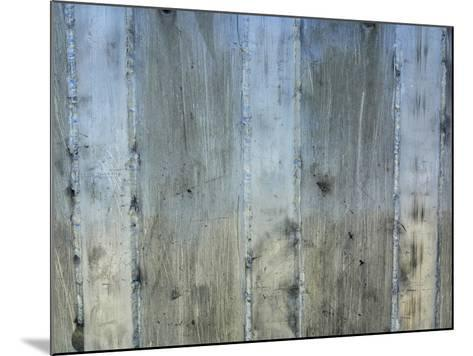 Close-up of a Rough Gray Concrete Wall--Mounted Photographic Print