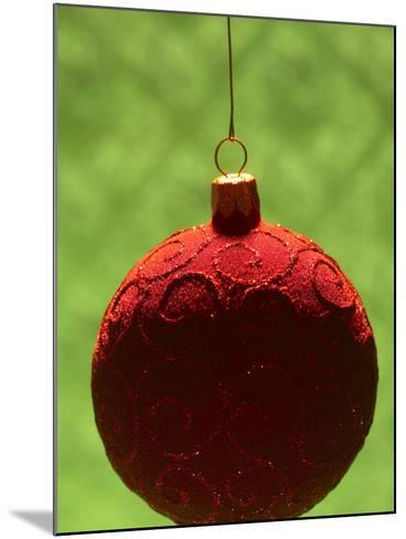 Close-up of Beautiful Christmas Ornament--Mounted Photographic Print