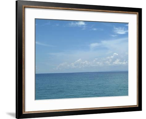 Surface of Sea Water--Framed Art Print