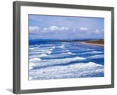 Ocean Waves--Framed Art Print